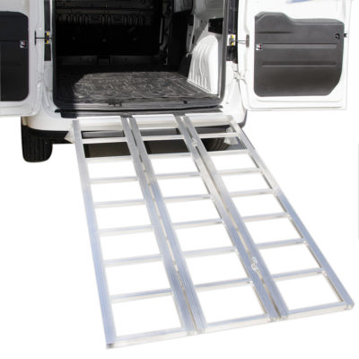 Tri-Panel Folding Ramps